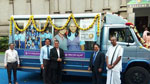 Bank donates food distribution vehicle to the mid-day meal programme
