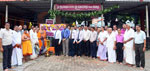 Bank donates Solar Lamps to Temple