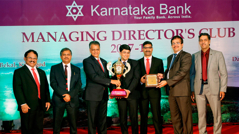 Managing Director's Club get together 2017-18 Runner Up Region Award