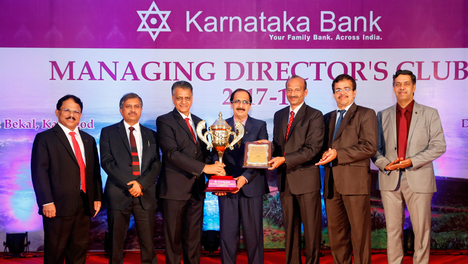 Managing Director's Club get together 2017-18 2nd Runner Up Region Award