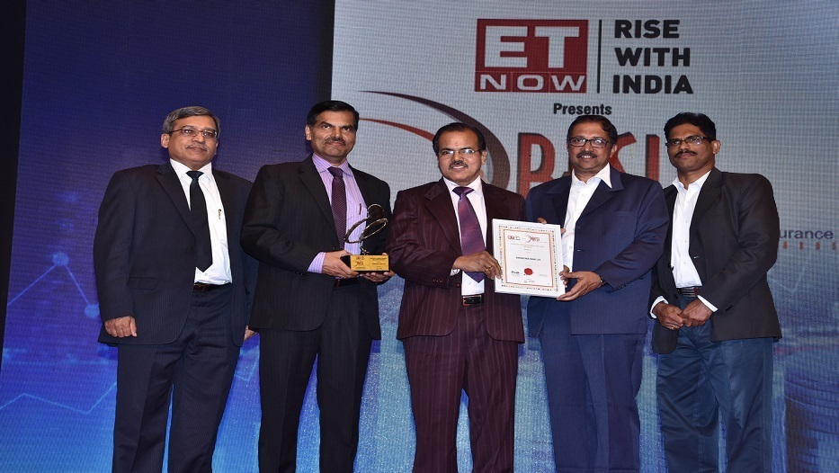 Bank wins ET NOW BFSI (Banking Financial Services & Insurance) Awards, 2018