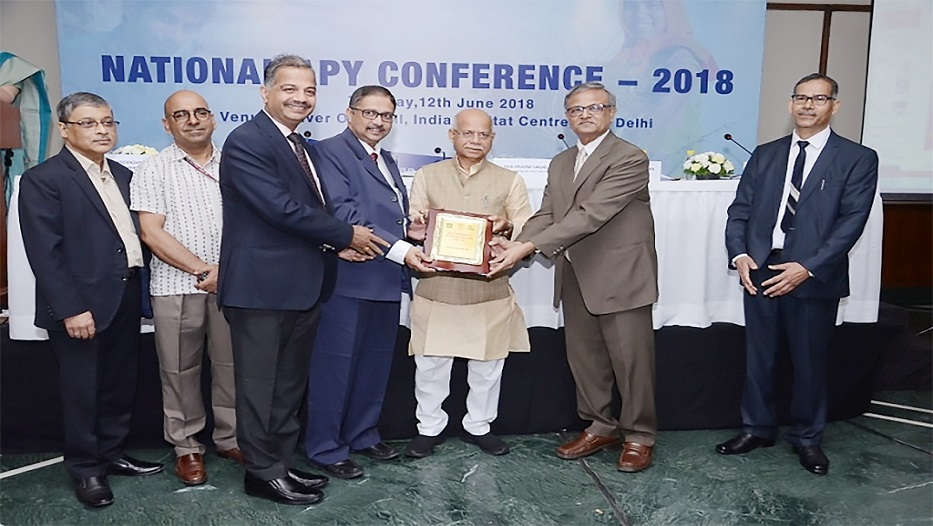 Bank bags Atal Pension Yojana Award on 12-06-2018