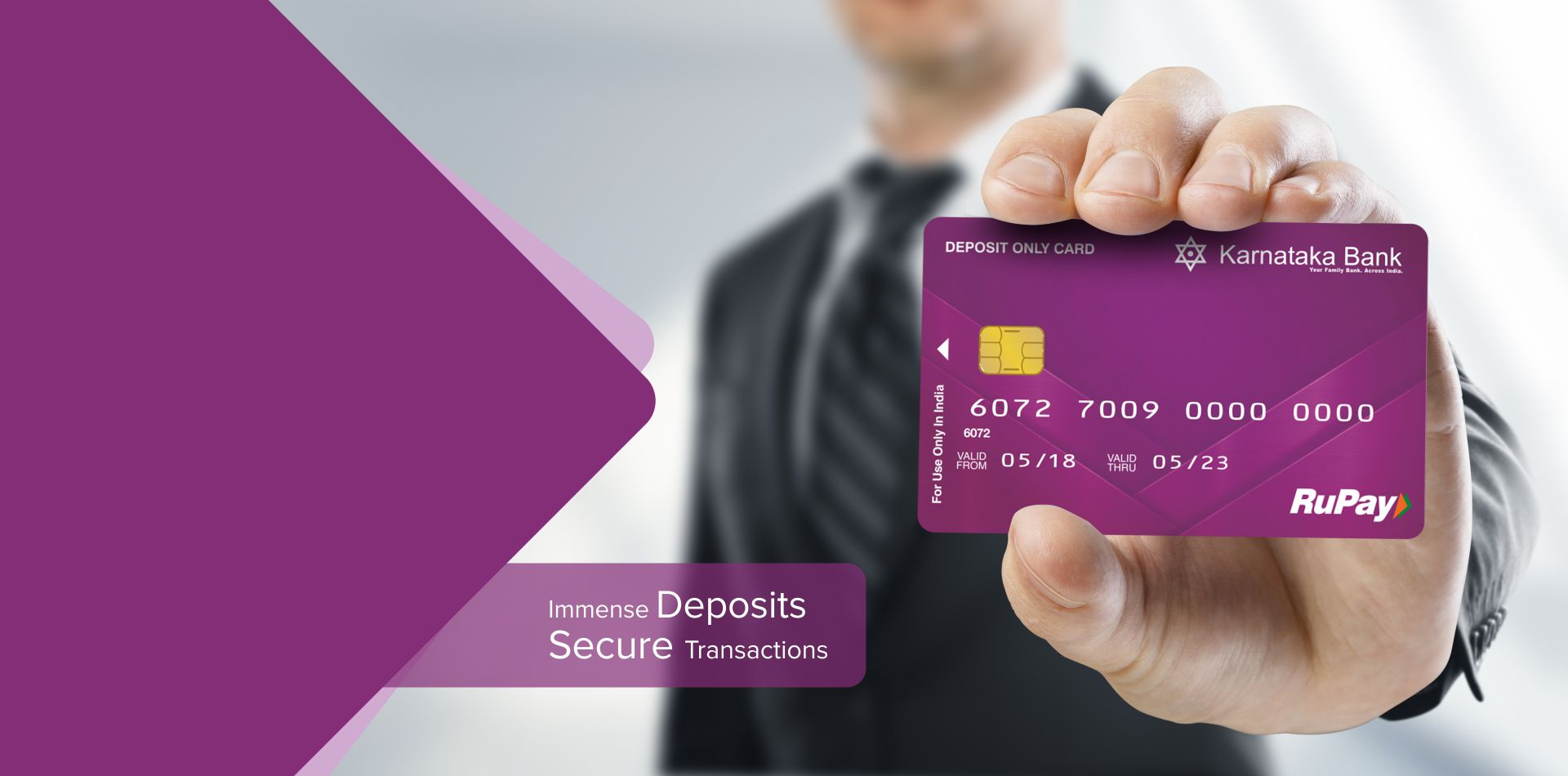 DEPOSIT ONLY CARD