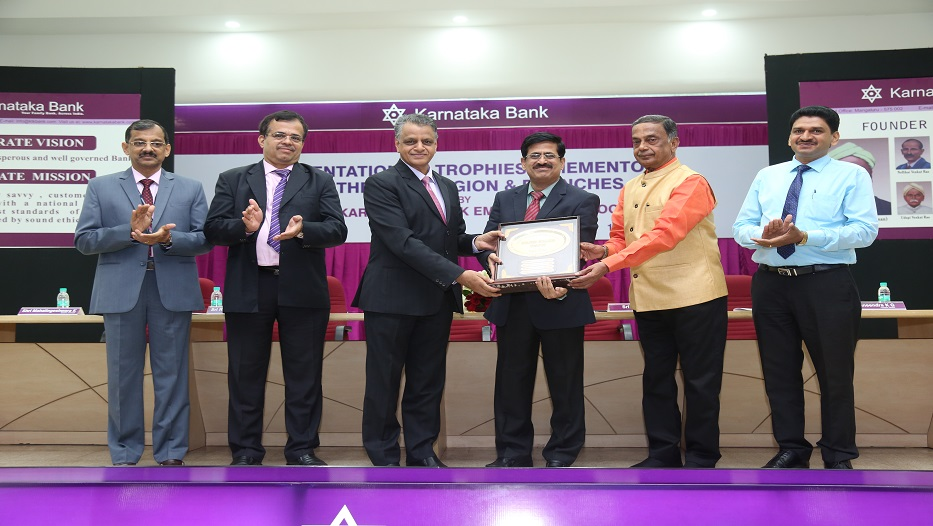 Best Region of the Bank for the Year 2017-18