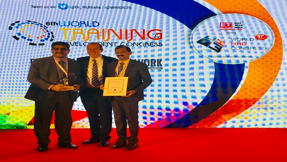Bank wins 'Best E-Learning module online award' on 16-02-2019