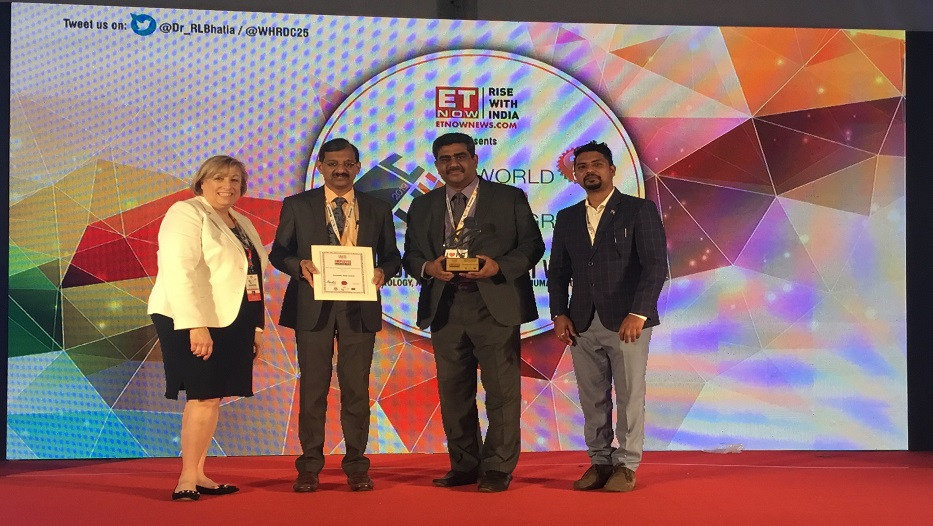 Bank wins 'ET NOW - Employee Engagement Leadership Awards' on 16-02-2019