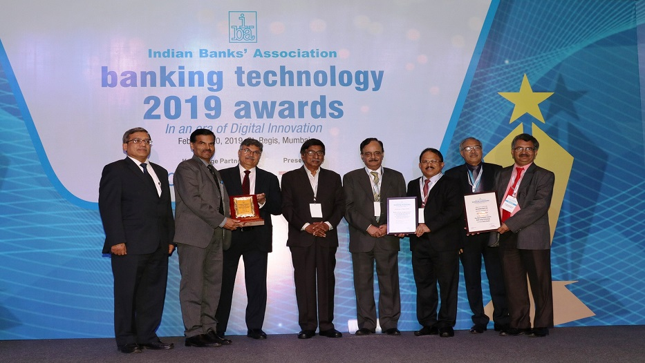 Bank bags IBA banking technology awards 2019