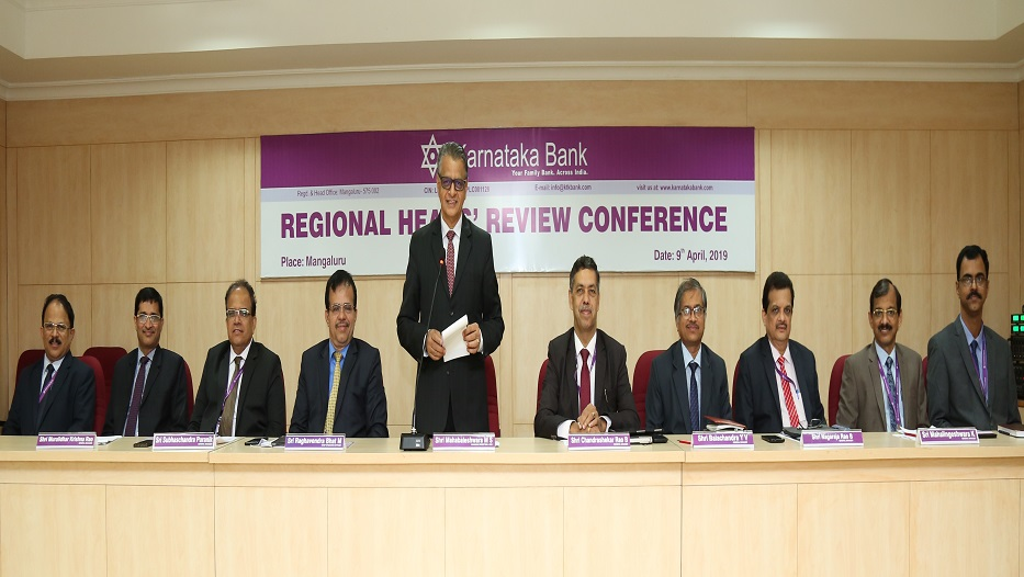 Regional Heads' Review Conference held on 09-04-2019
