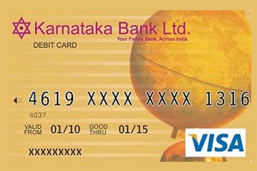 Debit Cards | Karnataka Bank