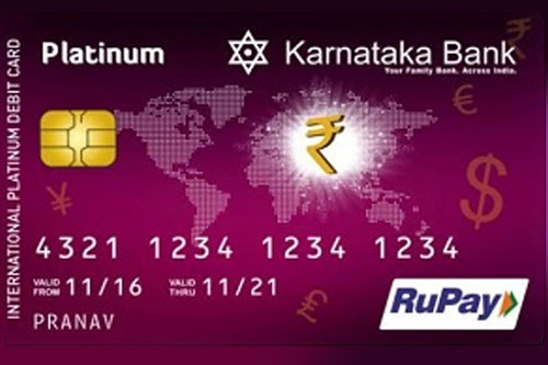 Debit Cards | Karnataka Bank
