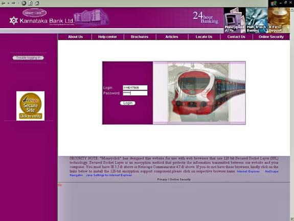Indian Railways Ticket Booking Karnataka Bank