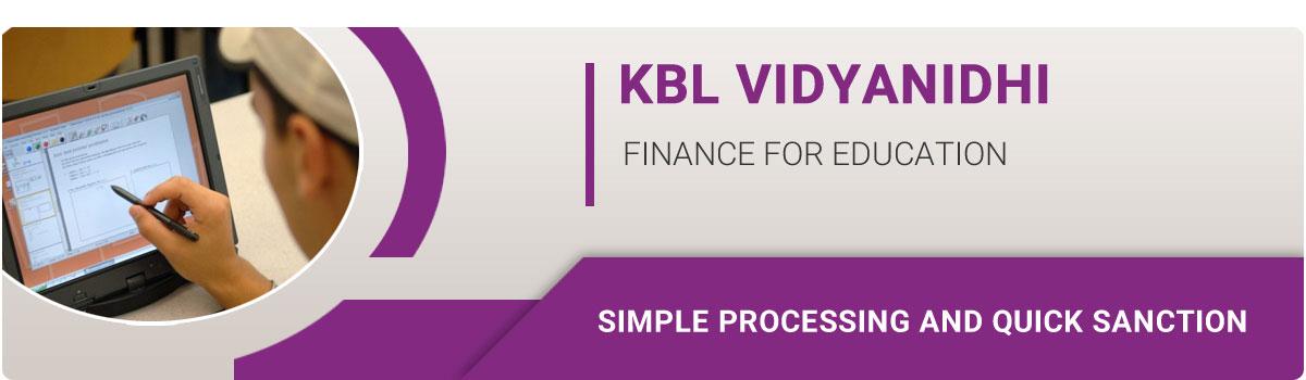Education Loan Kbl Vidya Nidhi Karnataka Bank